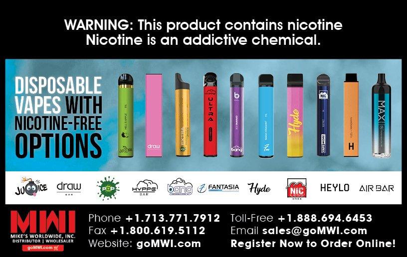 No Nicotine Disposable Vapes