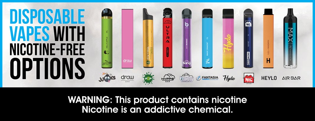 Read more about the article Why Your Smoke Shop Should Carry Disposable Vapes