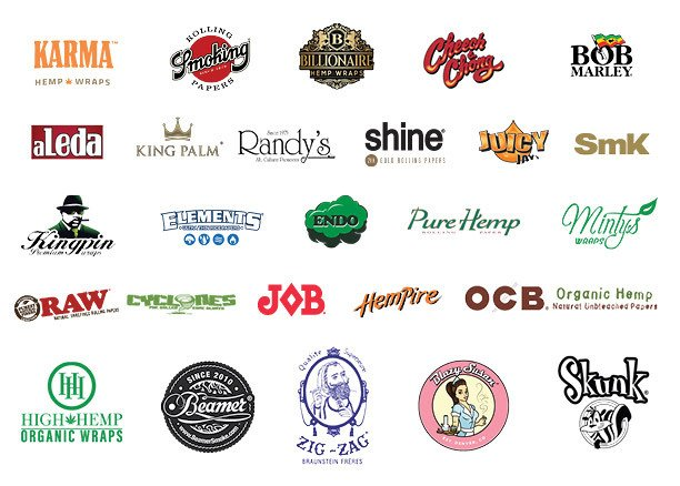 Rolling Papers & Wraps Brands
